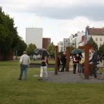Areal der Gedenkstätte Berliner Mauer