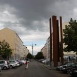 Ehemaliger Wachturm der Berliner Mauer