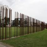 Verlauf der Berliner Mauer entlang Bernauer Straße