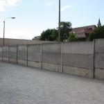 Mauer von Ost-Berlin gesehen