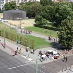 Ehemaliger Verlauf der Berliner Mauer