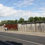 Blick auf die Mauer von West-Berlin