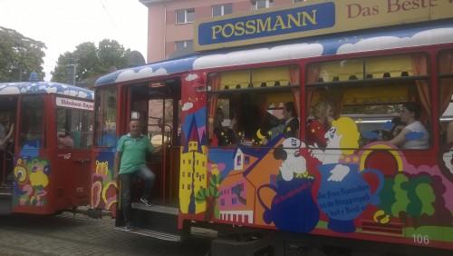 Historische Straßenbahn EbbelwEi-Express