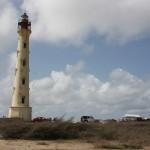 California Leuchtturm im westlichen Aruba