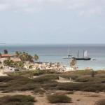 Blick auf die westliche Küste Arubas vom Leuchtturm