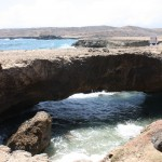 Natural Baby Bridge auf Aruba