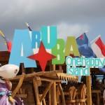Strandkiosk am Baby Beach auf Aruba