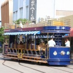 Straßenbahn in Oranjestad auf Aruba