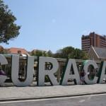 Curacao Buchstaben in Willemstad