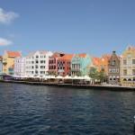 Handelskade in Willemstad auf Curacao