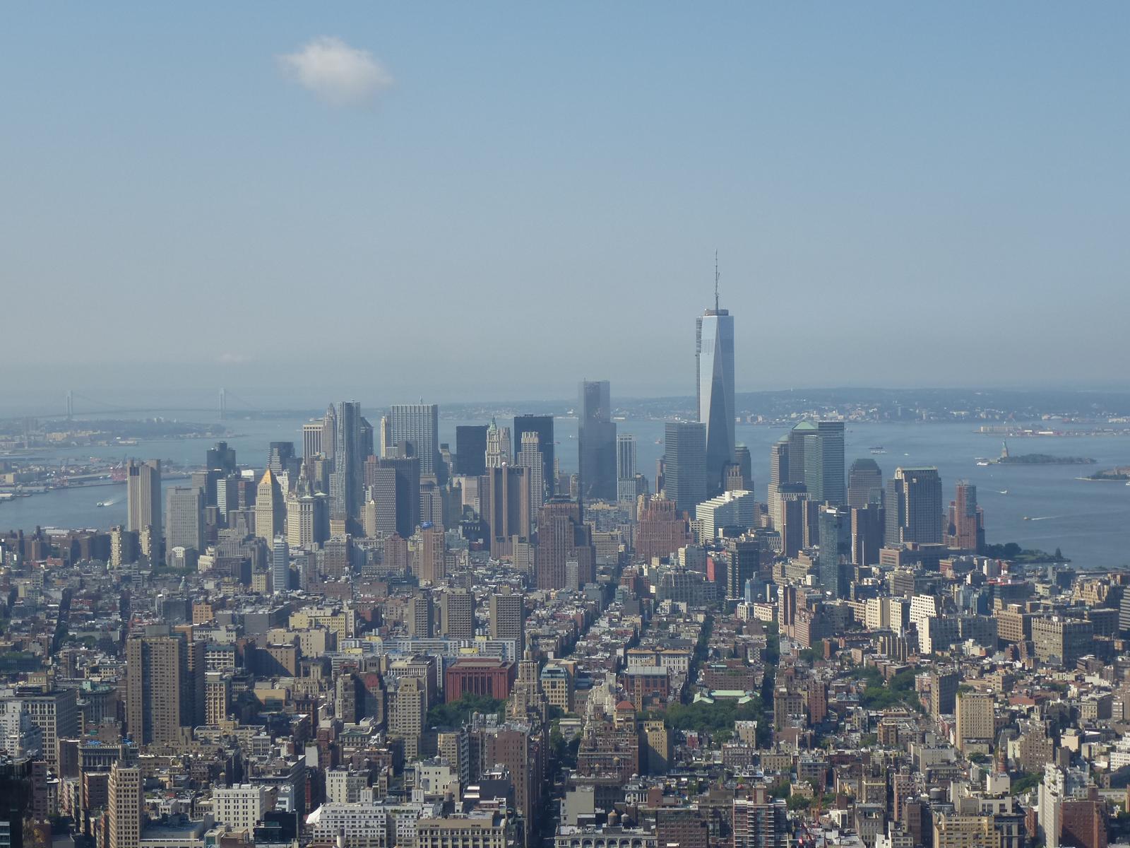 Skyline von Manhattan New York