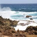 Nordküste Arubas - malerischen Boca Andicuri
