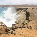 """Reste der """"Natürlichen Brücke"""" auf Aruba"""