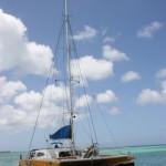 Katamaran-Tour vor Aruba
