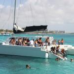 Schnorchelstop vor Aruba