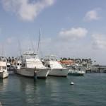 Yachten im Hafen von Oranjestad