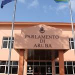 Parlamentsgebäude von Aruba in Oranjestad
