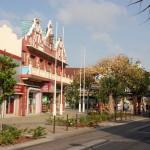 Einkaufsstraßen in Oranjestad