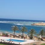 Klares Meer in Marsa Alam (Ägypten)