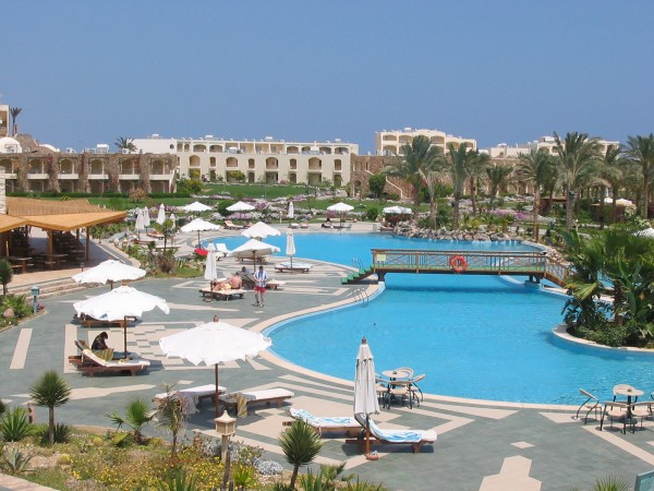 Hotelanlage in Marsa Alam - Ägypten