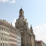 Renovierte Fassaden am Neumarkt