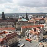 Blick über Dresdner Altstadt