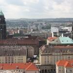 Blick über die Dächer Dresdens