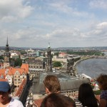 Aussichtsplattform auf der Dresdner Frauenkirche