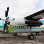 Flugzeug der Insel-Air Flotte
