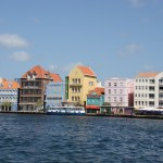 Waterfront in Willemstad auf Curacao