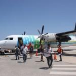 Ankunft am Flamingo Airport auf Bonaire