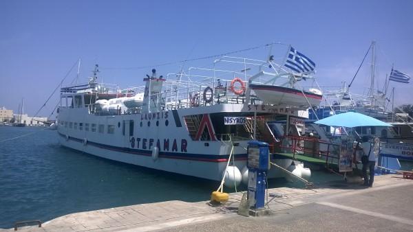 Hafen in Kos Stadt