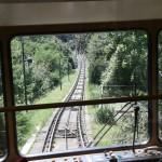 Schienen der Dresdner Standseilbahn