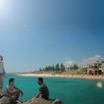 Sonne, Strand und Meer genießen
