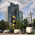 Euro-Skulptur in Frankfurt