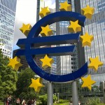 neuer Euro in Frankfurt