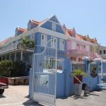 Bunte Häuser in Pietermaai auf Curacao