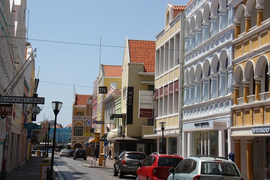 Geschäftshäuser in Willemstad