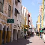 Fußgängerzone auf Curacao