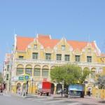 Geschäftshaus an der Handelskaade von Punda/Curacao