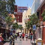 Fußgängerzone in Willemstad, Curacao