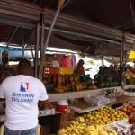 Obst und Gemüse Schwimmender Markt Willemstad, Curacao