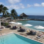 Pool im Hotel Avila Curacao
