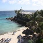 Hotelsteg im Pool im Hotel Avila Curacao