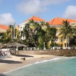 Strand und Gebäudeensemple Hotel Avila Curacao