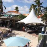 Restaurant und Bar im Hotel Avila auf Curacao