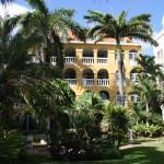 Gartenanlage Hotel Avila auf Curacao