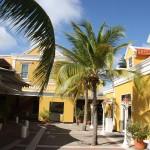 restaurierten Gouverneurssitz auf Curacao