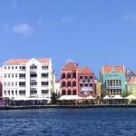 Handelskaade Punda in Willemstad auf Curacao