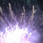 Raketen-Feuerwerk